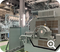 In-house electrical generation facilities allow operation to continue even during a power outage
