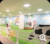 【Shiawase Farm】, part of the 'Oishisa Massugu-kan' Educational Facility