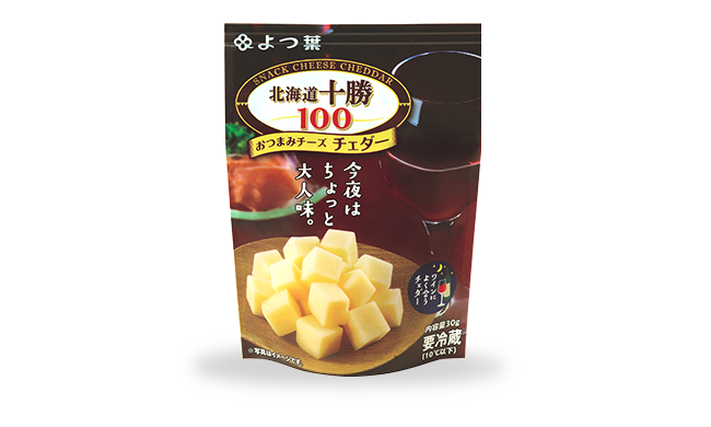 Yotsuba 「Hokkaido Tokachi 100」Cheese Snack – Cheddar 30g