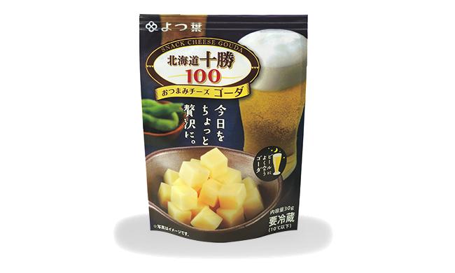 Yotsuba 「Hokkaido Tokachi 100」Cheese Snack – Gouda 30g