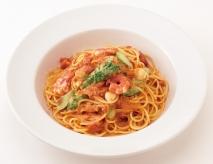 シーフードのトマトクリーム・スパゲティ