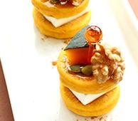 かぼちゃのピンチョスパンケーキ