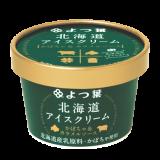 よつ葉北海道アイスクリーム かぼちゃ&カラメルソース