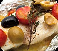白身魚のホイル包み焼き