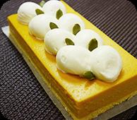 えびすかぼちゃのチーズケーキ