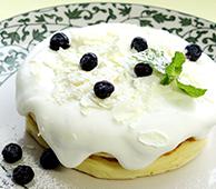 ヨーグルトレモンふわしゅわパンケーキ